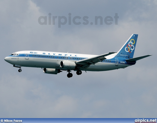 SX-BKA, Boeing 737-400, Olympic Airlines