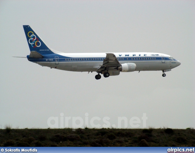 SX-BKE, Boeing 737-400, Olympic Airlines