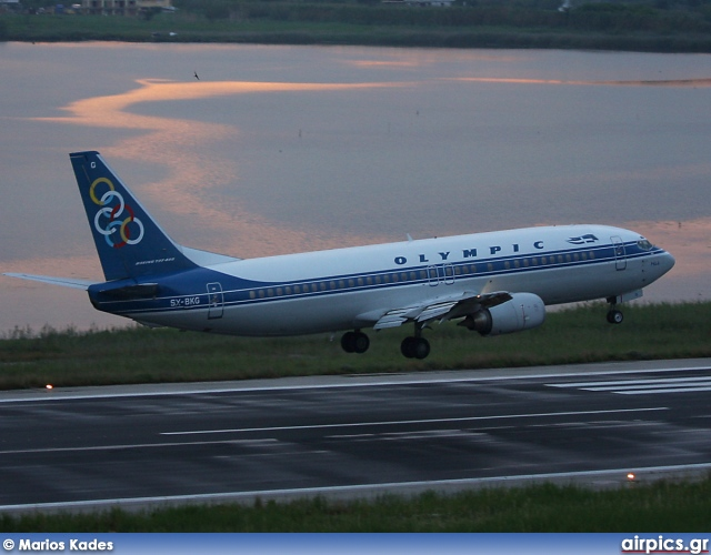SX-BKG, Boeing 737-400, Olympic Airlines