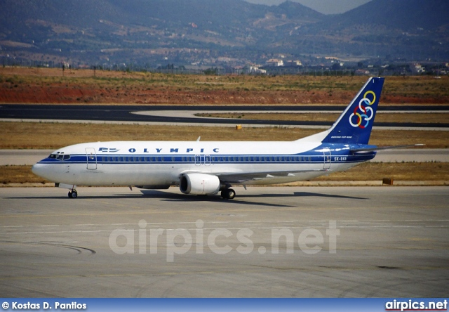 SX-BKI, Boeing 737-400, Olympic Airlines
