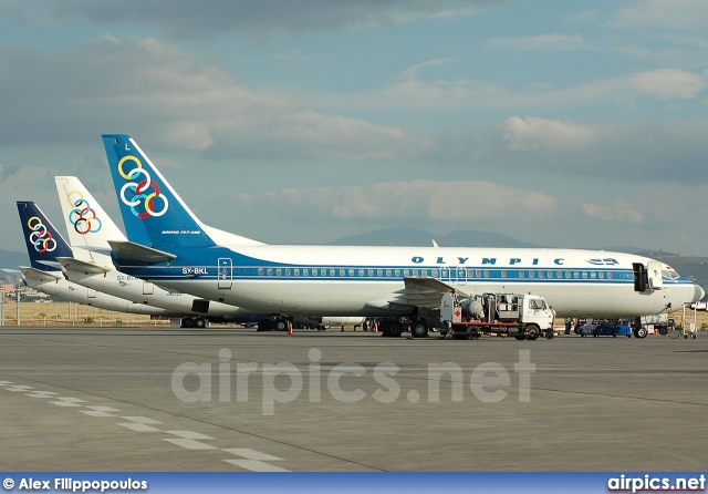 SX-BKL, Boeing 737-400, Olympic Airlines