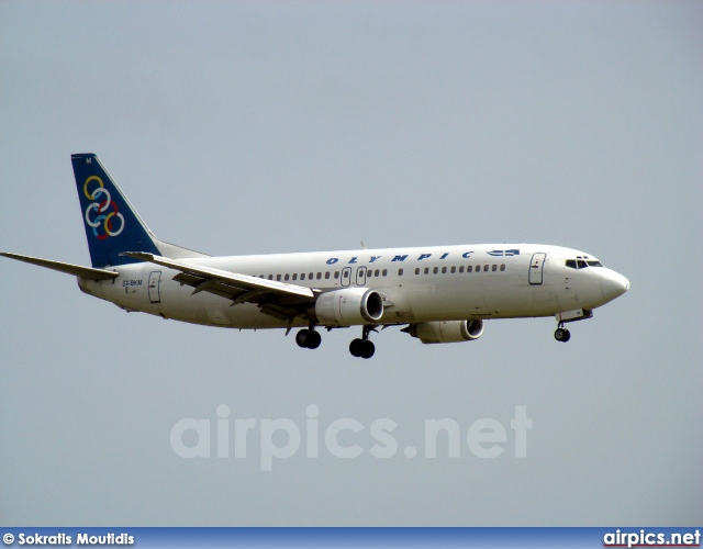 SX-BKM, Boeing 737-400, Olympic Airlines