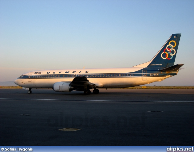 SX-BKN, Boeing 737-400, Olympic Airlines