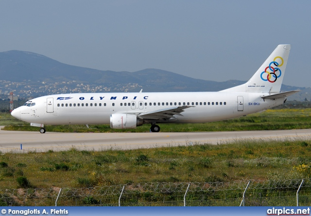 SX-BKU, Boeing 737-400, Olympic Airlines