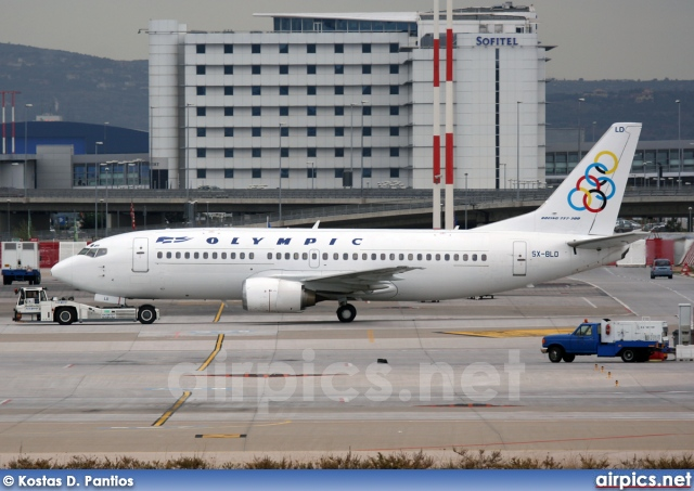 SX-BLD, Boeing 737-300, Olympic Airlines