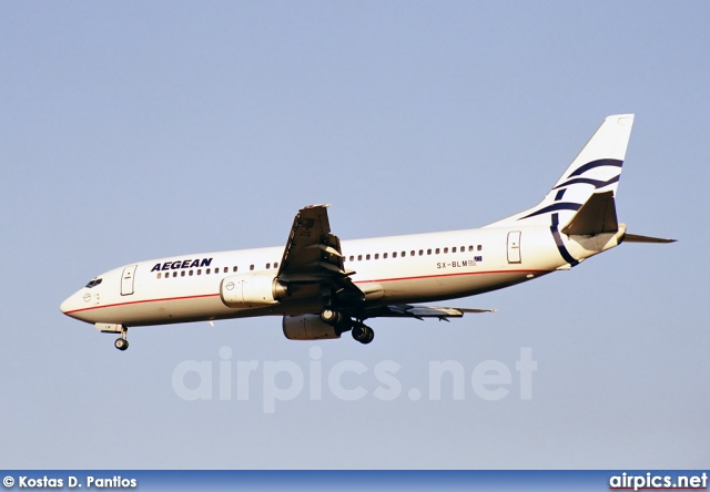 SX-BLM, Boeing 737-400, Aegean Airlines
