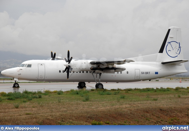SX-BRT, Fokker 50, Untitled