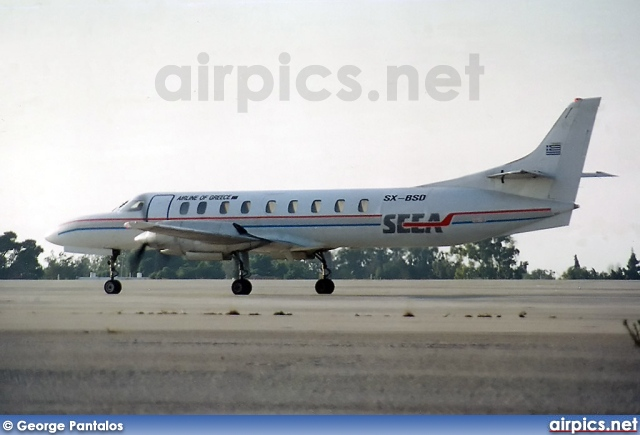 SX-BSD, Fairchild (Swearingen) SA-226 TC Metro II, South East European Airlines - SEEA