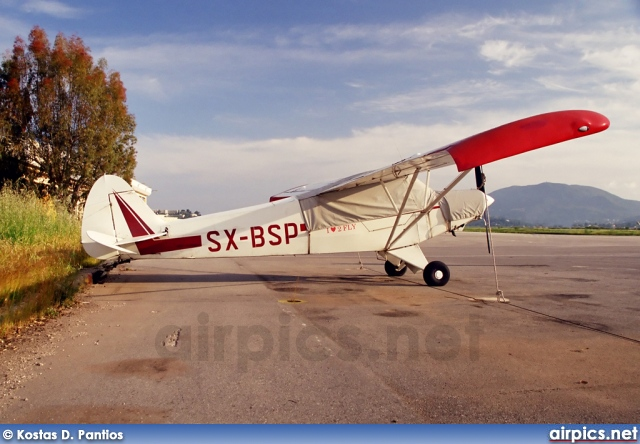 SX-BSP, Piper PA-18 150 Super Cub, Private