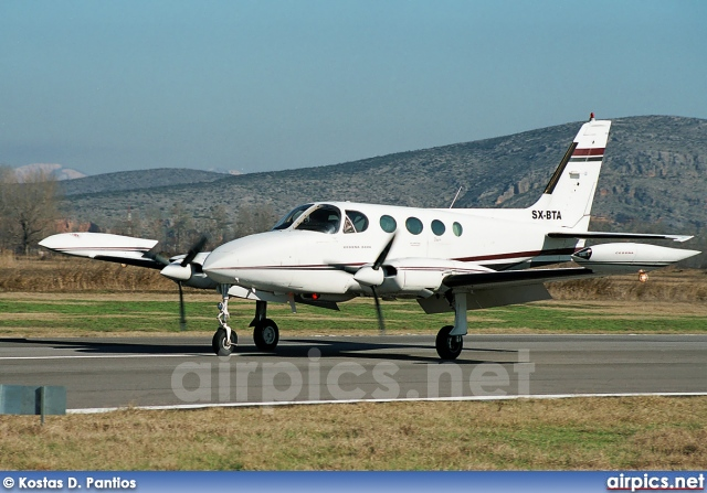 SX-BTA, Cessna 340, Private