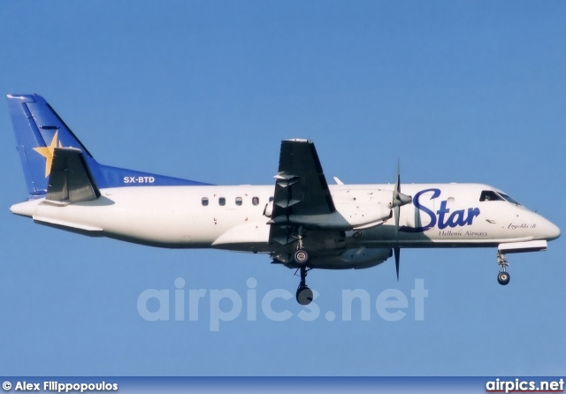 SX-BTD, Saab 340-B, Hellenic Star Airways