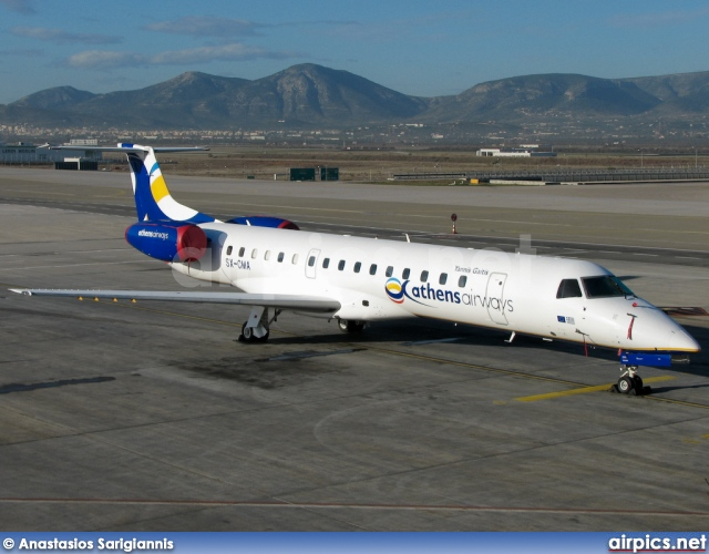 SX-CMA, Embraer ERJ-145EU, Athens Airways