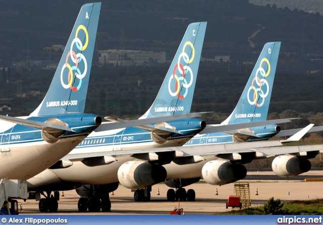 SX-DFA, Airbus A340-300, Olympic Airlines