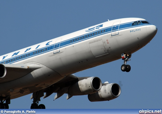 SX-DFB, Airbus A340-300, Olympic Airlines