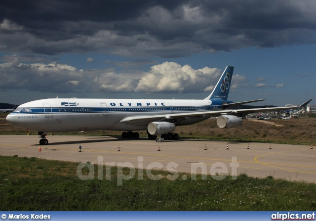 SX-DFC, Airbus A340-300, Olympic Airlines