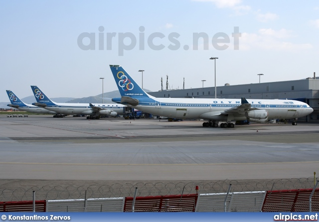 SX-DFD, Airbus A340-300, Olympic Airlines