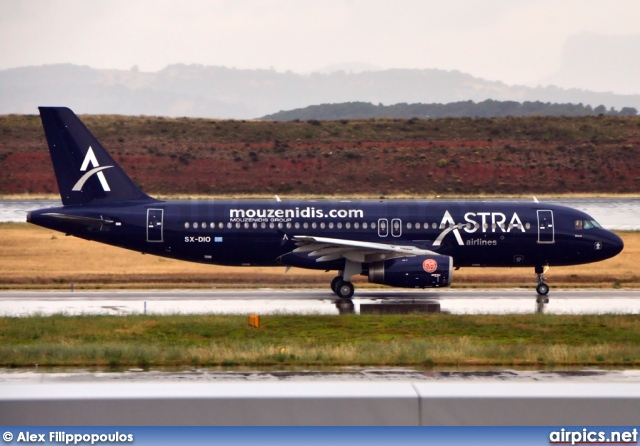 SX-DIO, Airbus A320-200, Astra Airlines