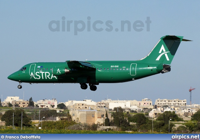 SX-DIX, British Aerospace BAe 146-300, Astra Airlines