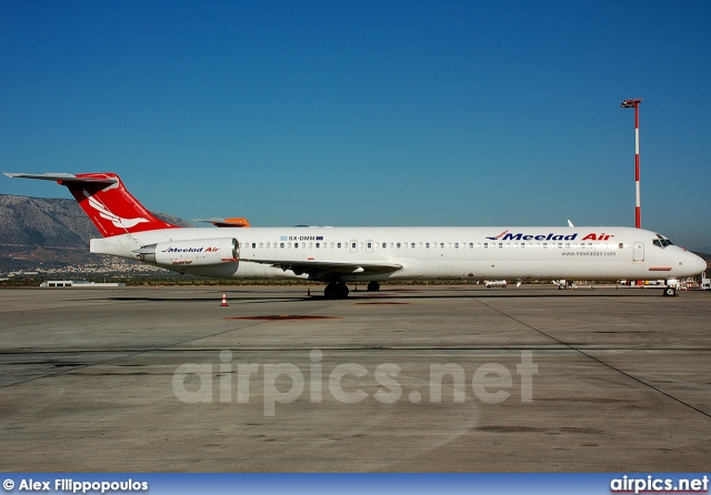 SX-DMM, McDonnell Douglas MD-83, Meelad Air