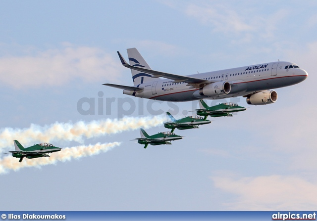 SX-DNA, Airbus A320-200, Aegean Airlines