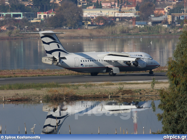 SX-DVA, British Aerospace Avro RJ100, Aegean Airlines