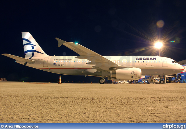 SX-DVL, Airbus A320-200, Aegean Airlines