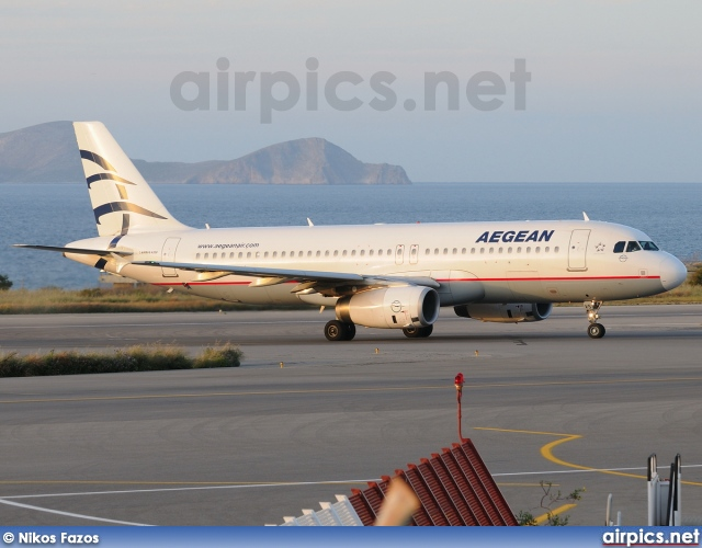 SX-DVS, Airbus A320-200, Aegean Airlines