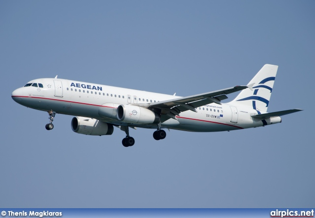 SX-DVW, Airbus A320-200, Aegean Airlines