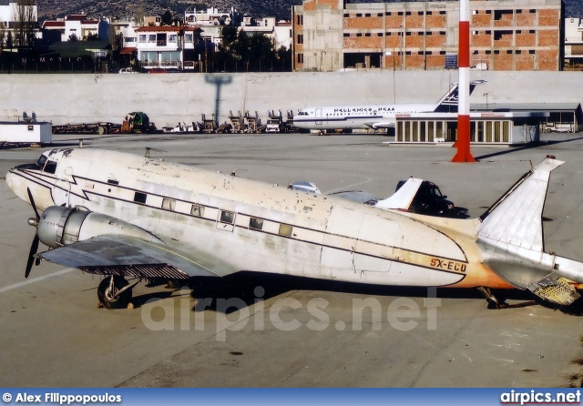 SX-ECD, Douglas DC-3A, Hellenic Civil Aviation Authority