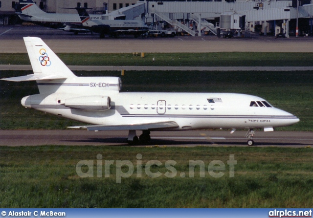 SX-ECH, Dassault Falcon-900B, Olympic Airways