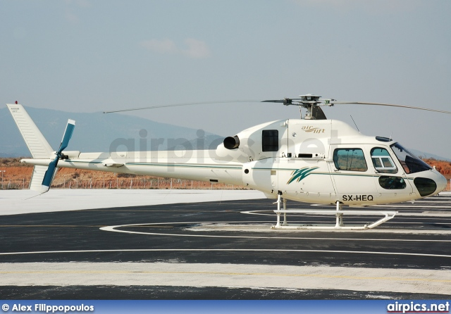 SX-HEQ, Aerospatiale (Eurocopter) AS 355-N Ecureuil 2, Airlift