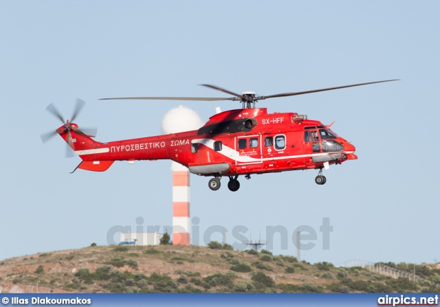 SX-HFF, Aerospatiale (Eurocopter) AS 332-L1 Super Puma, Hellenic Fire Department