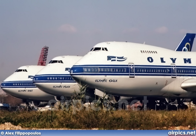 SX-OAB, Boeing 747-200B, Olympic Airways
