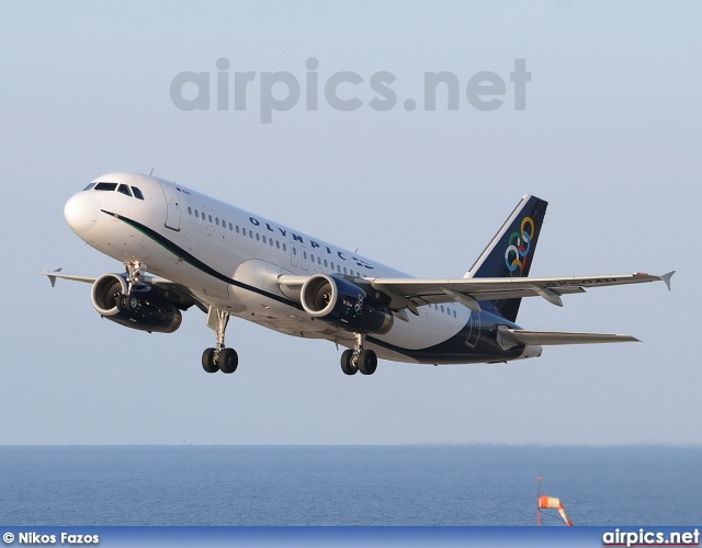 SX-OAH, Airbus A320-200, Olympic Air