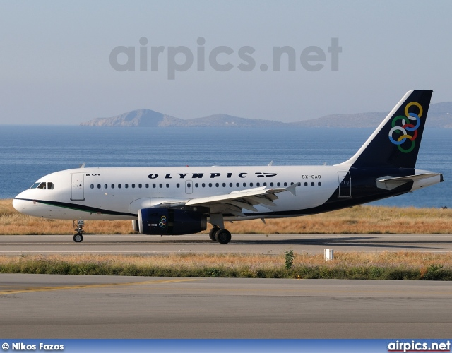 SX-OAO, Airbus A319-100, Olympic Air