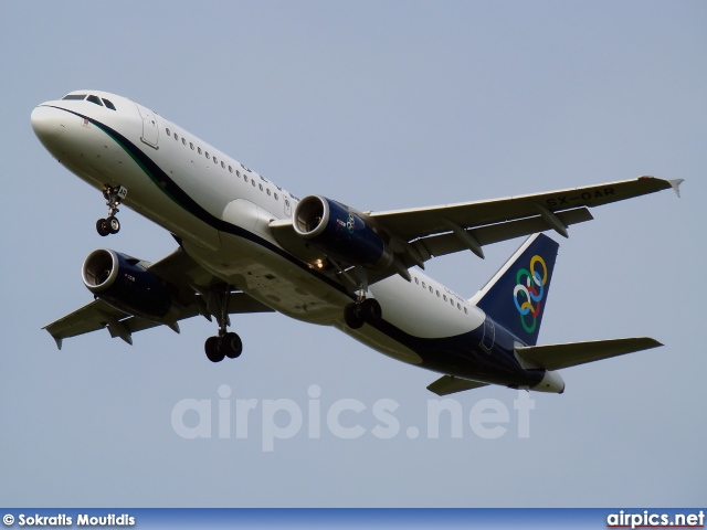 SX-OAR, Airbus A320-200, Olympic Air