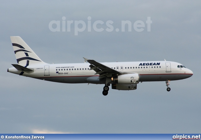 SX-OAS, Airbus A320-200, Aegean Airlines