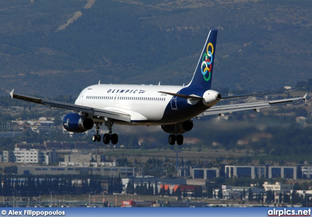 SX-OAS, Airbus A320-200, Olympic Air