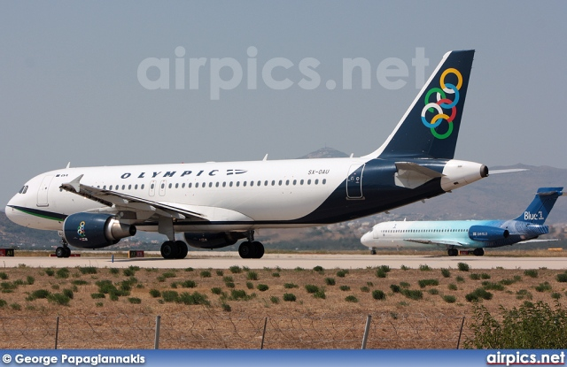 SX-OAU, Airbus A320-200, Olympic Air