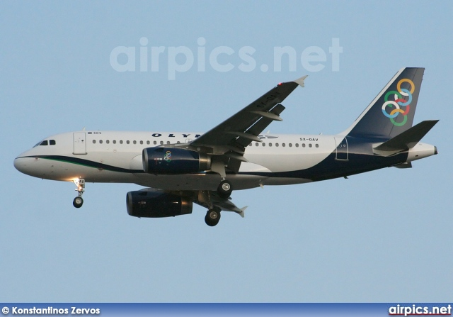 SX-OAV, Airbus A319-100, Olympic Air