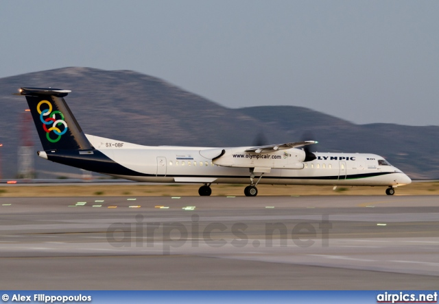 SX-OBE, De Havilland Canada DHC-8-400Q Dash 8, Olympic Air