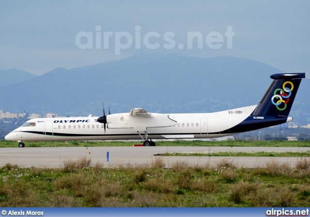 SX-OBH, De Havilland Canada DHC-8-400Q Dash 8, Olympic Air