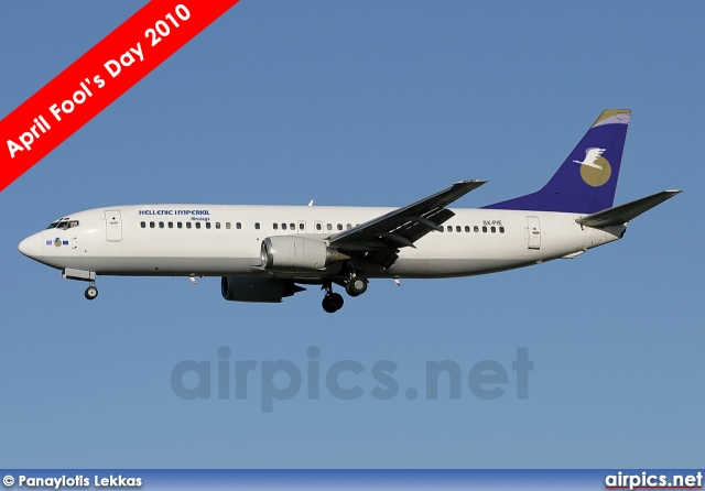 SX-PIE, Boeing 737-400, Hellenic Imperial Airways
