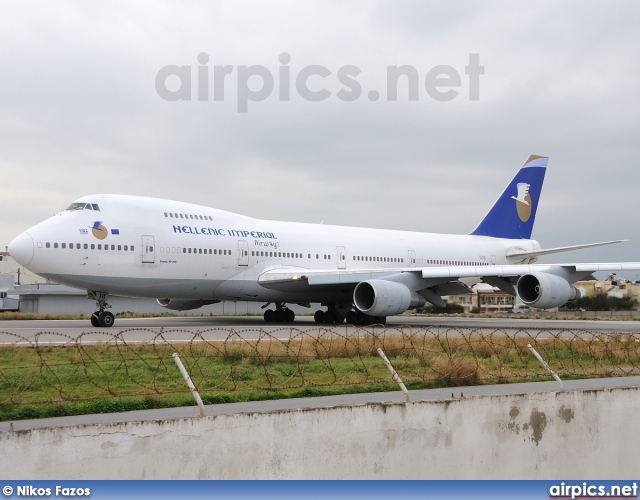 SX-TIB, Boeing 747-200B, Hellenic Imperial Airways