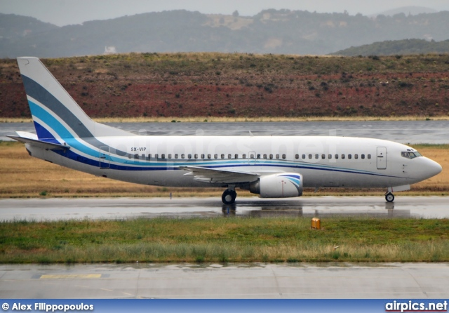 airpics net - SX-VIP, Boeing 737-300, Private - Medium size