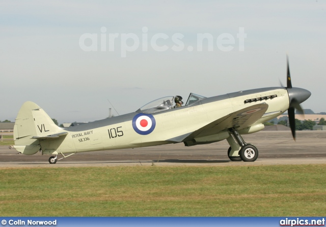 SX336, Supermarine SeaFire, Private