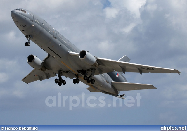 T-264, McDonnell Douglas KDC-10-30CF, Royal Netherlands Air Force