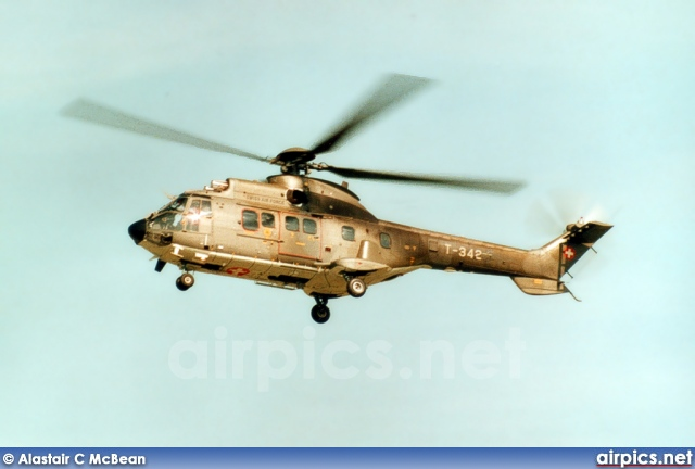 T-342, Aerospatiale (Eurocopter) AS 532-U Cougar, Swiss Air Force