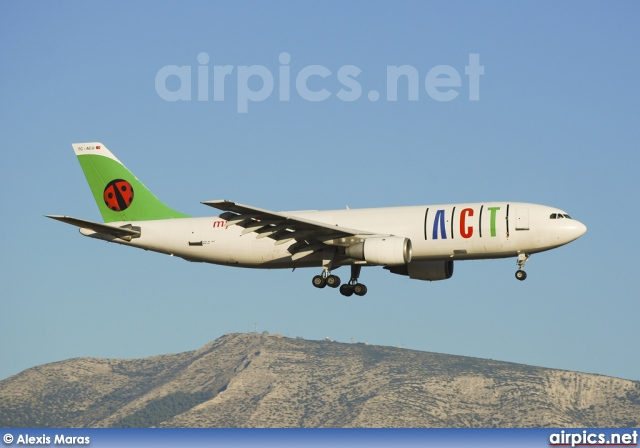 TC-ACU, Airbus A300B4-200F, ACT Airlines