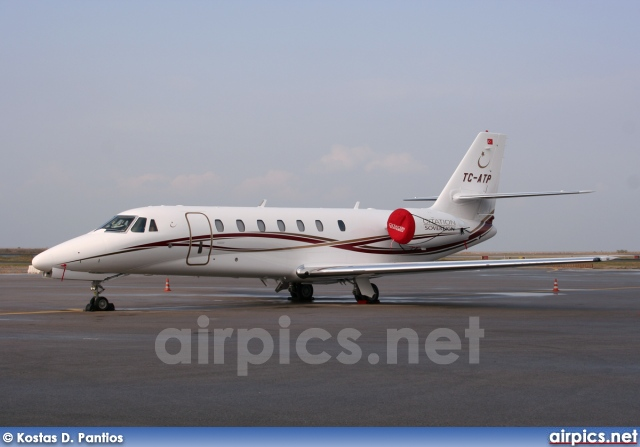 TC-ATP, Cessna 680-Citation Sovereign, Private